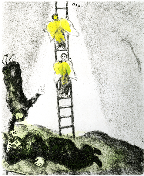 IMAGE: Marc Chagall; Jacob's Ladder, 1957
