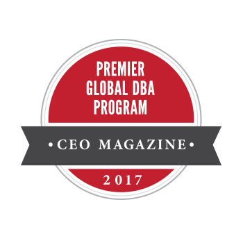 CEO Magazine Ranked Premier Global DBA Program
