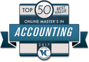 Top 50 Best Value Online Master's in Accounting Degrees