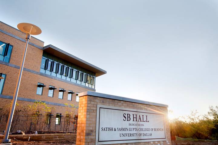 SB Hall, Satish & Yasmin Gupta College of Business