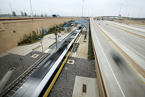 DART Opens DFW Airport Station; UD a 25-Minute Train Ride Away