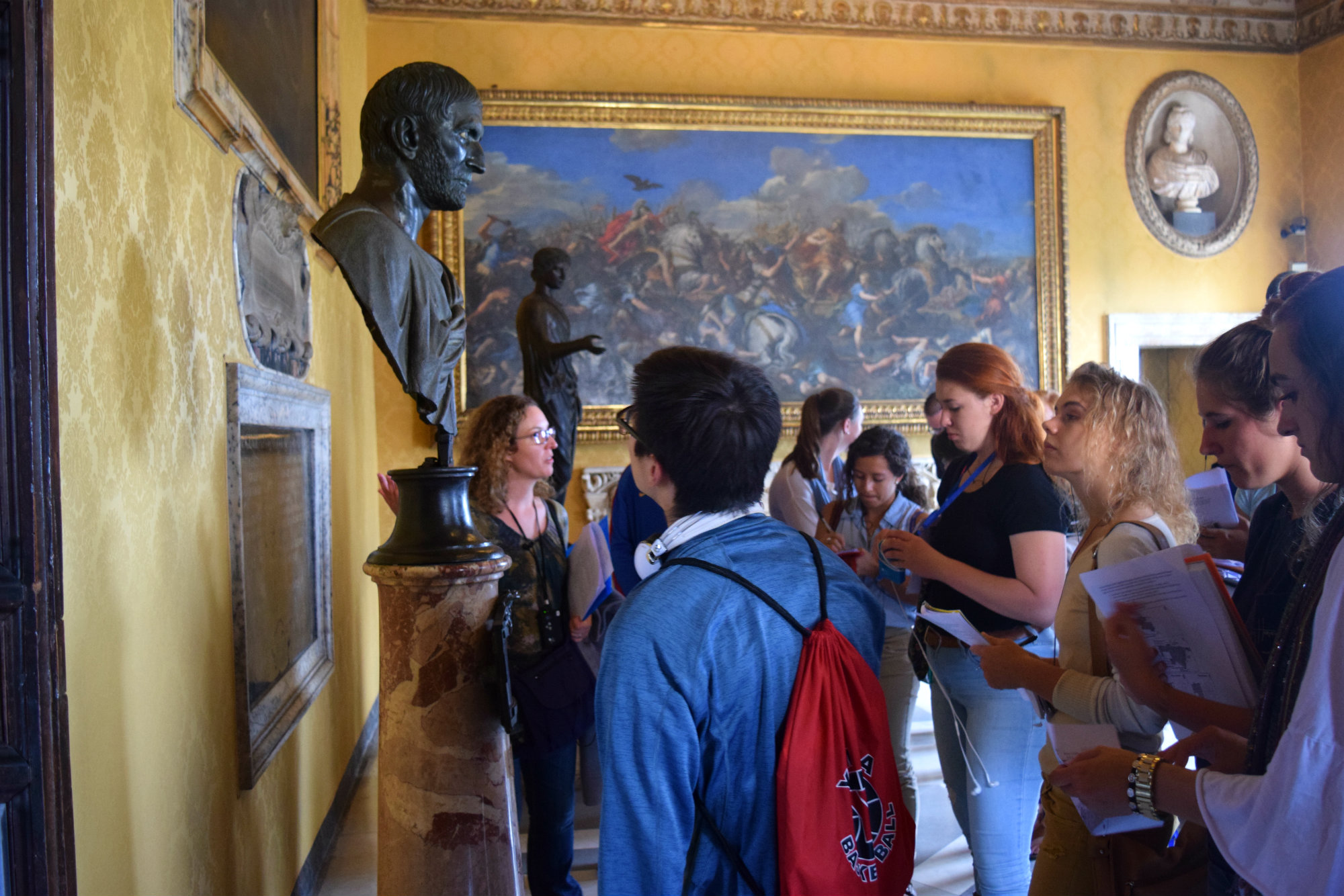 Art & Architecture Site Visit to the Capitoline Museums