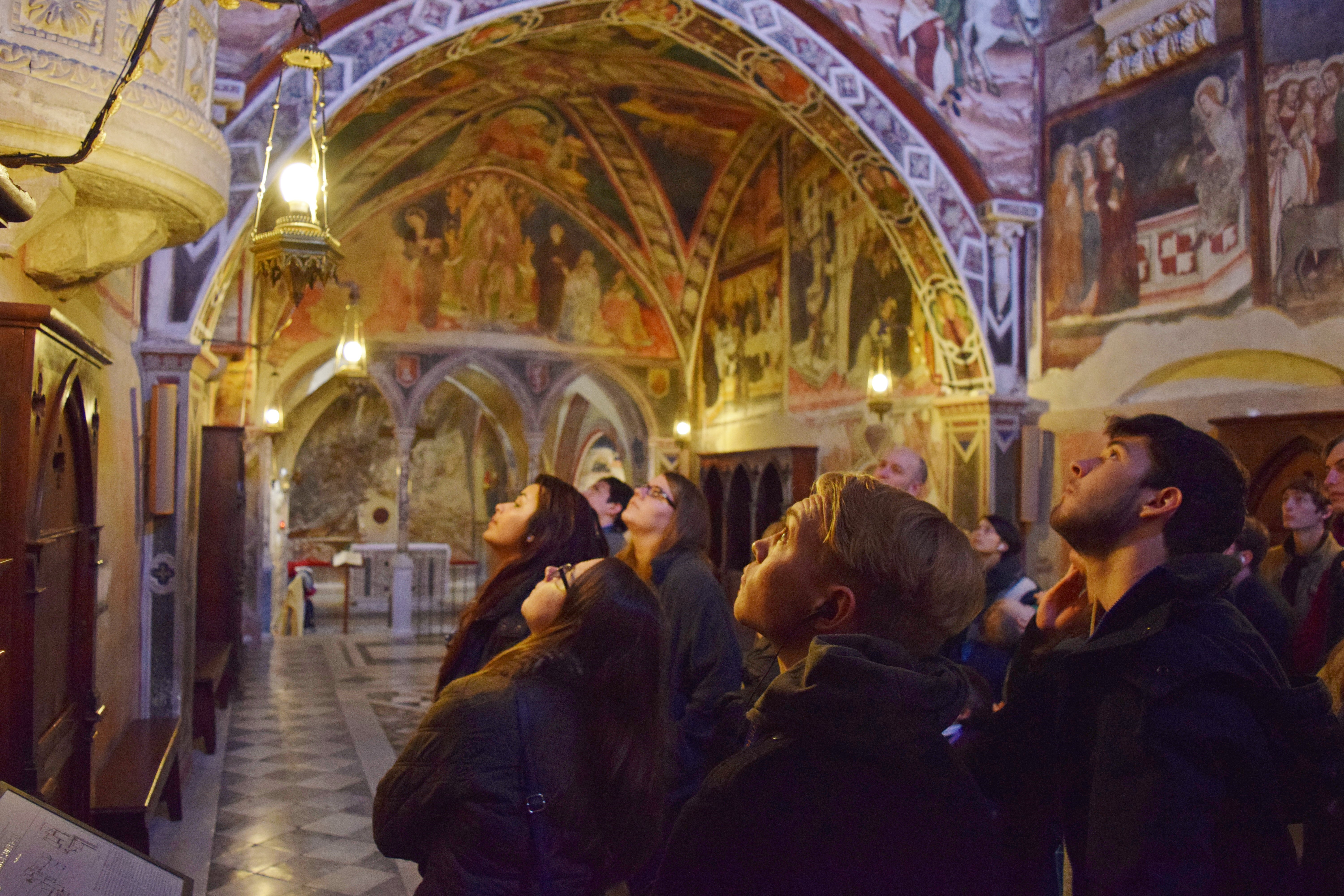 Subiaco, Assisi, and Orvieto Trip: February 5 -7, 2016